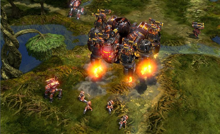 Grey Goo (video game) New Grey Goo storyline and unit details GameCrate