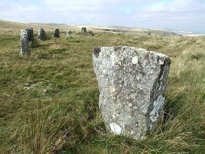 Grey Wethers Grey Wethers Stone Circle West of Fernworthy Forest Dartmoor Devon