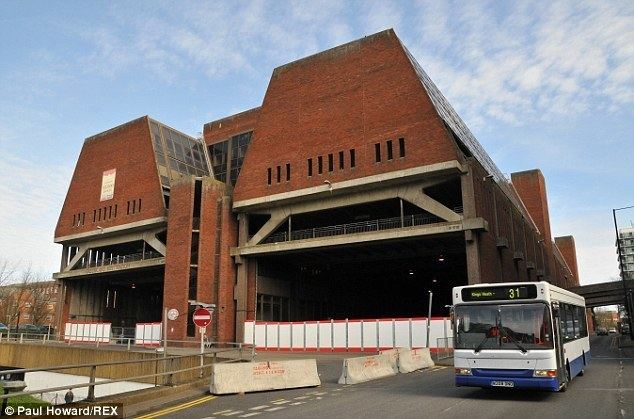 Greyfriars bus station Greyfriars bus station to be demolished tomorrow Daily Mail Online