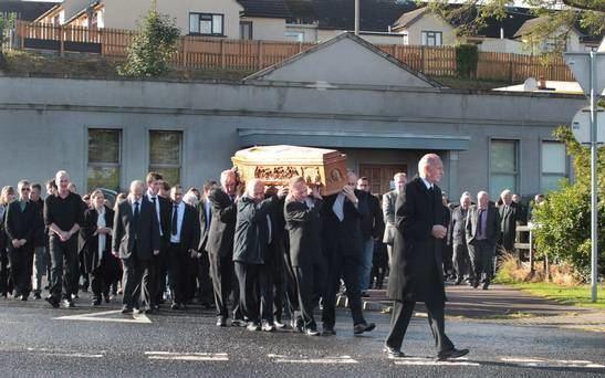Greysteel massacre Rising Sun Bar owner39s funeral goes past scene of Greysteel massacre