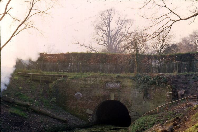 Greywell Tunnel Greywell Tunnel Portal Now Visible Again updated The Basingstoke