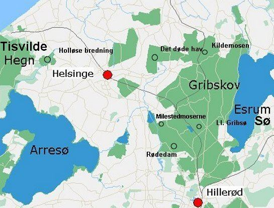 Gribskov Municipality wwwvisitnordsjellanddkMuseerImgVdomrdekort545