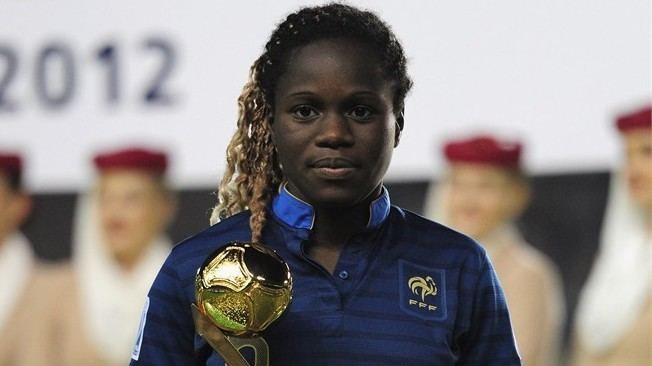 Griedge Mbock Bathy Griedge Mbock Bathy wins the Golden Ball Award during the