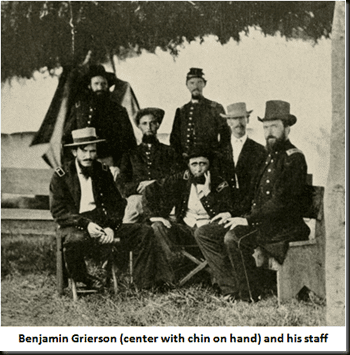 Grierson's Raid Thoughts Essays and Musings on the Civil War Grierson39s Cavalry