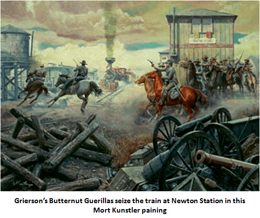 Grierson's Raid Grierson39s Cavalry Raid Knocking the Heart Out of Mississippi