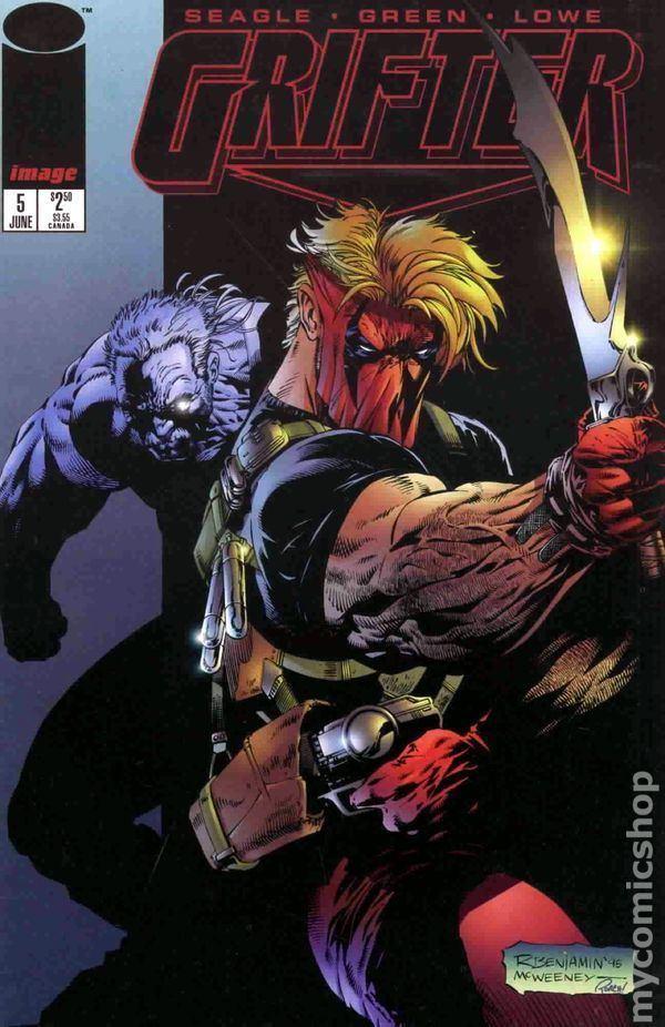 Grifter (comics) Grifter comic books issue 5