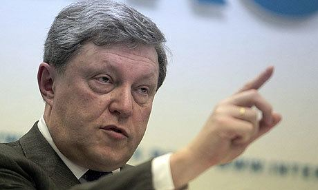 Grigory Yavlinsky Russian liberal leader faces exclusion from presidential
