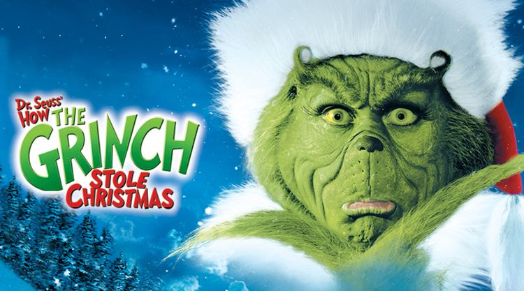 Grinch Dr Seuss39 How The Grinch Stole Christmas Movie Page DVD Blu