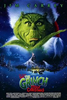 Grinch Dr Seuss39 How the Grinch Stole Christmas 2000 film Wikipedia