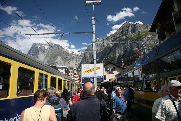 Grindelwald railway station