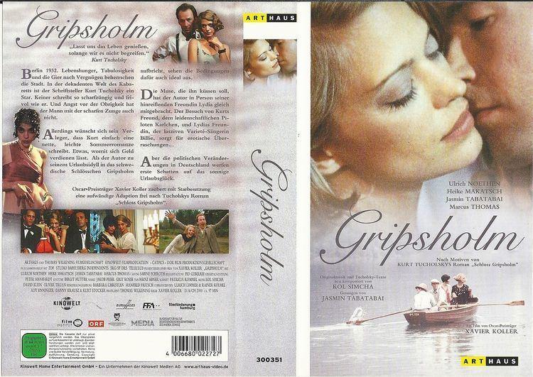 Gripsholm (film) VHS Gripsholm Ulrich Noethen Heike Makatsch Jasmin Tabatabai