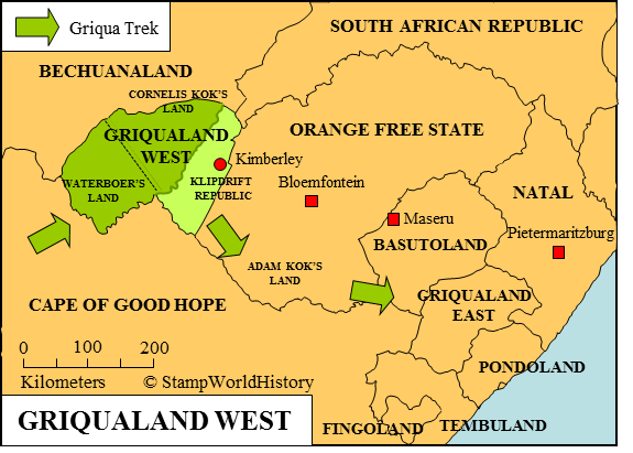 Griqualand West Griqualand West Stamps and postal history StampWorldHistory