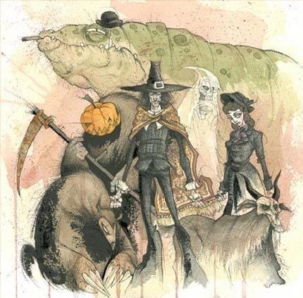 Gris Grimly Gris Grimly Lines and Colors a blog about drawing