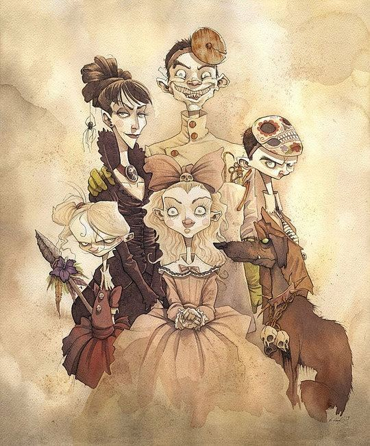 Gris Grimly Original Illustrations by Gris Grimly Cruzine