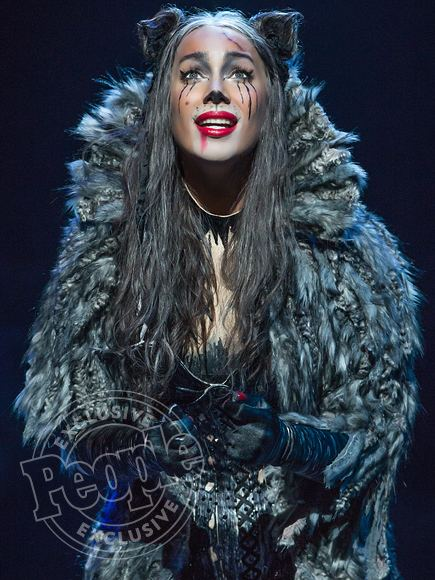 Grizabella Leona Lewis First Look as Grizabella in Broadway Cats Revival