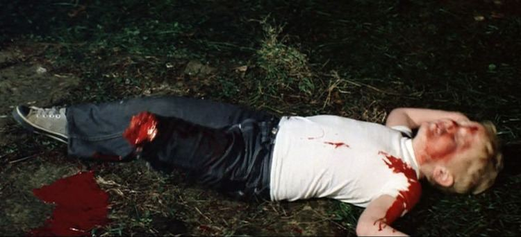 Grizzly (1976 film) movie scenes grizzly 1976 dead kid