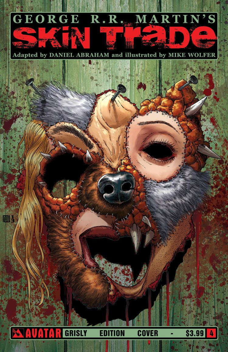 Grizzly (comics) SkinTrade04grizzly Bleeding Cool Comic Book Movie TV News