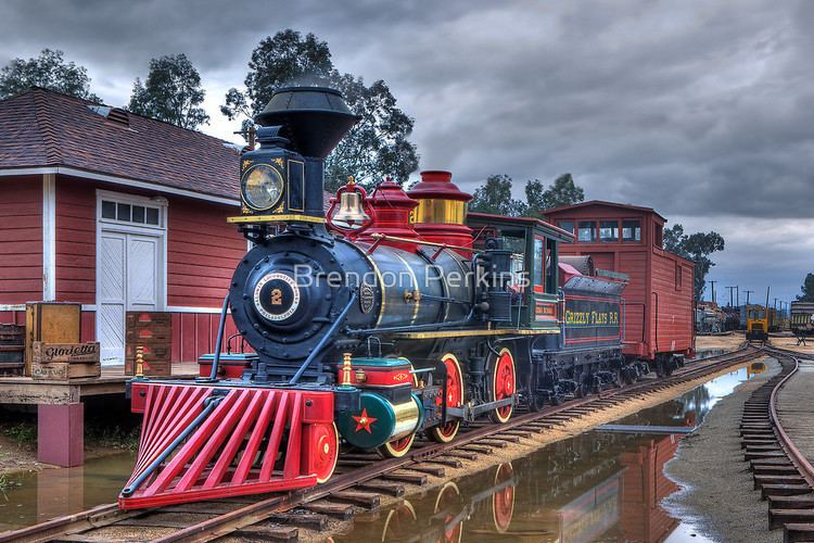 Grizzly Flats Railroad Grizzly Flats Railroad Perris Californiaquot by Brendon Perkins