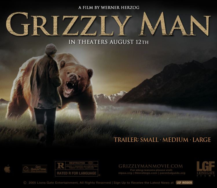 Grizzly Man Apple Trailers Lions Gate Films Grizzly Man In Theaters This