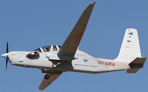 Grob G 520 G520 Egrett II Reconnaissance Grob G520 Airplane Wood Model Replica
