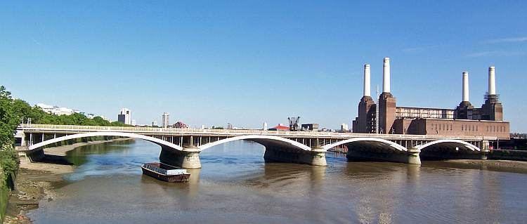 Grosvenor Bridge Railway Structures