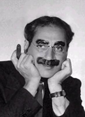 Groucho Marx Groucho Marx Reading Quote