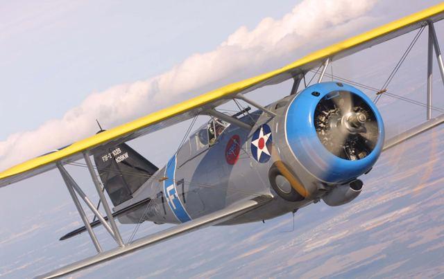 Grumman F3F 1938 Grumman F3F2 Fantasy of Flight