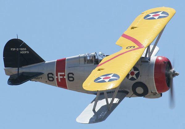 Grumman F3F Grumman F3F Aircraft