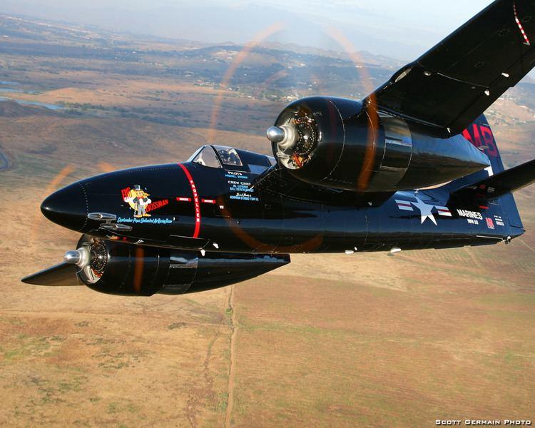 Grumman F7F Tigercat Warbird Depot Fighters gt Lewis Air Legends Grumman F7F3P Tigercat
