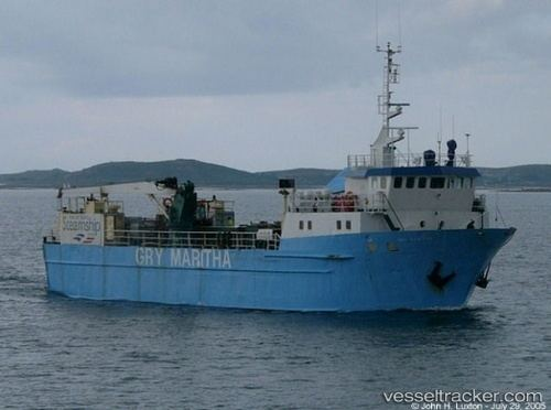Gry Maritha Gry Maritha Type of ship Cargo Ship Callsign MLMB3
