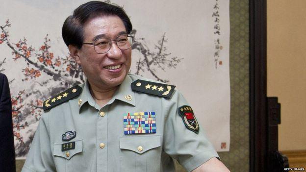 Gu Junshan China exgeneral Gu Junshan sentenced over corruption