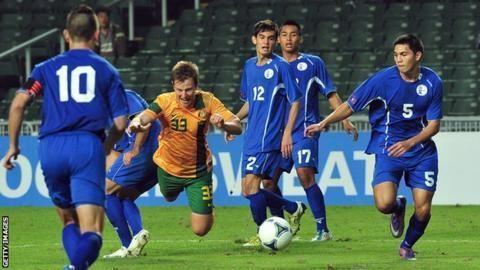 Guam national football team Worldranked 174 Guam stun India in World Cup qualifier BBC Sport