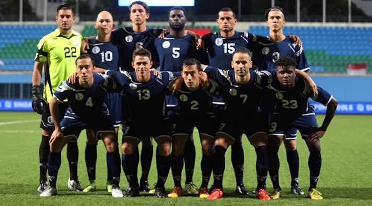 Guam national football team Ryan Guy Leads Guam To Historic Victory GoalNation