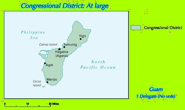 Guam's at-large congressional district
