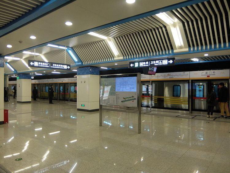 Guangqumenwai Station