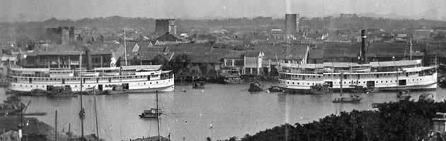 Guangzhou in the past, History of Guangzhou