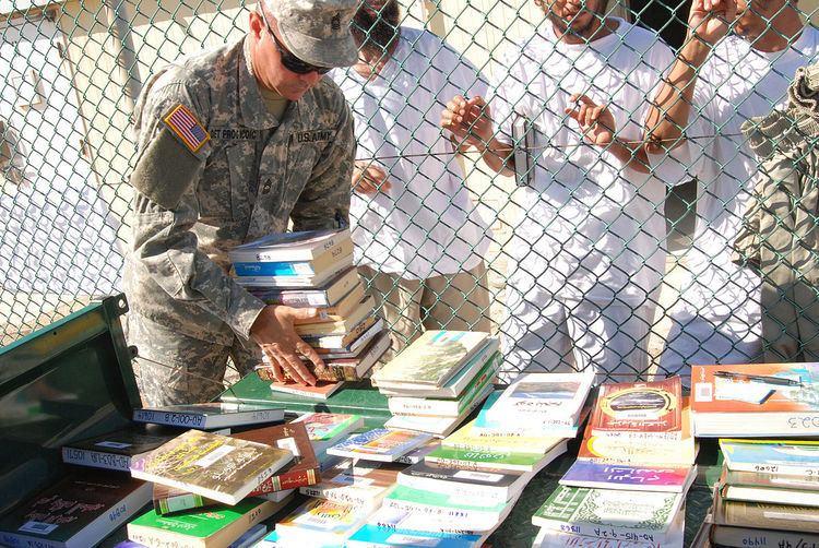 Guantanamo Bay detainment camp library