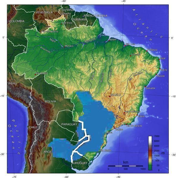 Guarani Aquifer Guarani Aquifer Wikipedia