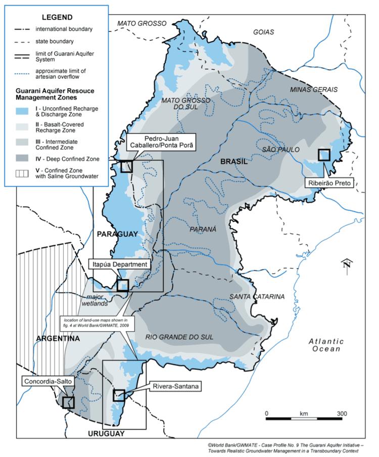 Guarani Aquifer Global Water Forum The Agreement on the Guarani Aquifer