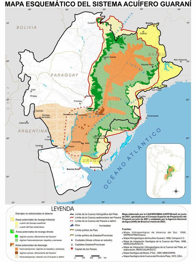 Guarani Aquifer The Guarani Aquifer Protecting The Hidden Treasure