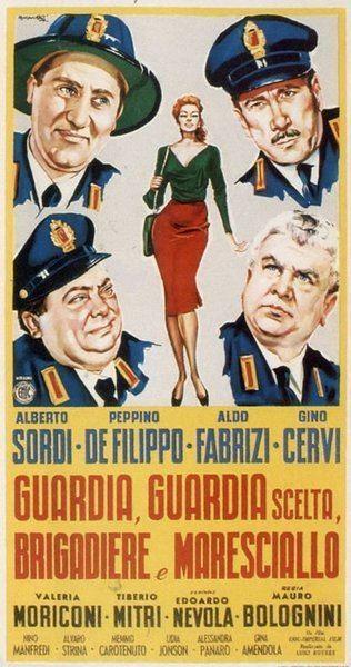 Guardia, guardia scelta, brigadiere e maresciallo Guardia guardia scelta brigadiere e maresciallo 1956 Mauro