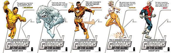 Guardians of the Globe Image Rounds Out Its Real 39Guardians of the Globe39 Roster