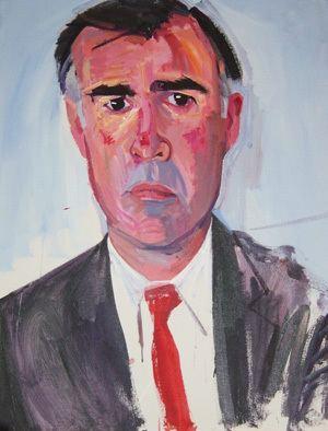 Gubernatorial portrait of Jerry Brown
