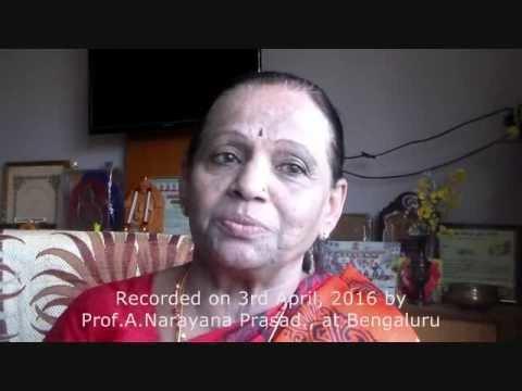 Gudibande Poornima Gudibande Poornima Early Life YouTube