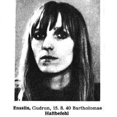 Gudrun Ensslin Begegnung mit Gudrun Ensslin Ein kleiner Revolver