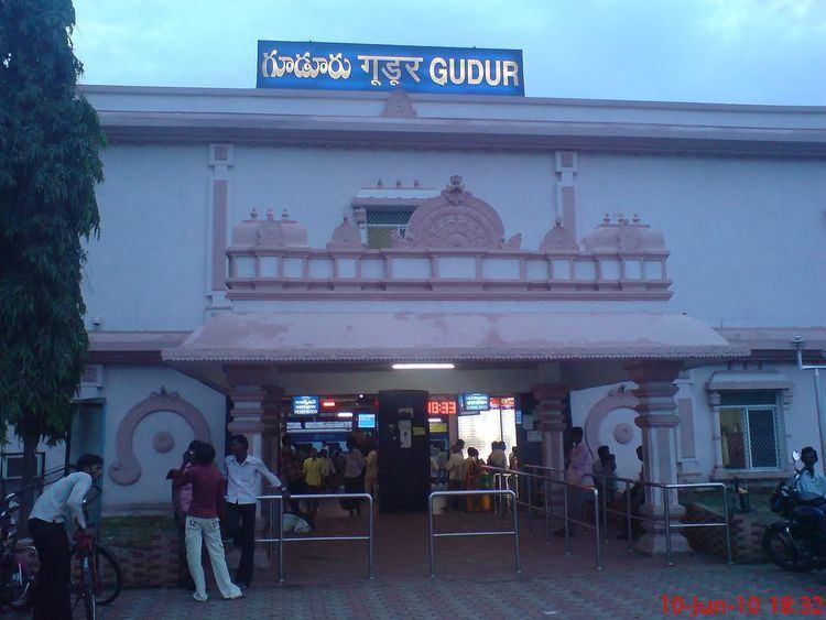 Gudur Junction railway station