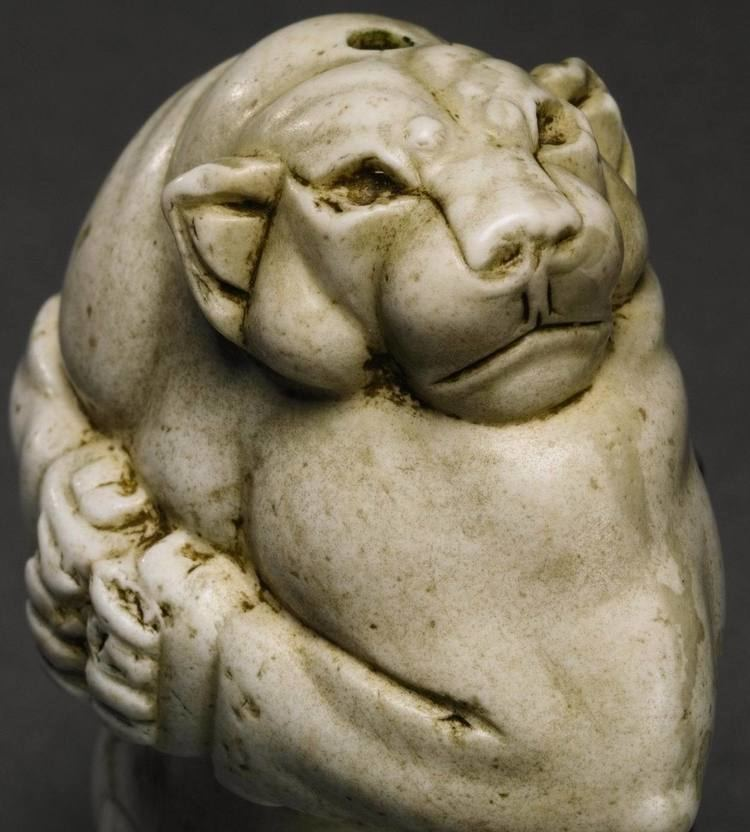 Guennol Lioness Ancient Iranian quotDiv Shirquot Statuette Fetches Record Price at