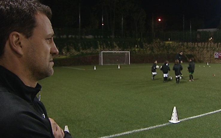 Guerino Gottardi Che fine hanno fatto Gottardi insegna calcio ai bambini