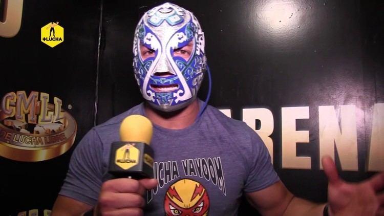 Guerrero Maya Jr. Guerrero Maya Jr Black Terry quiero luchar contigo en la Arena