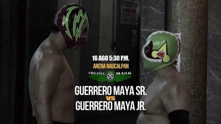 Guerrero Maya Jr. Guerrero Maya vs Guerrero Maya Jr en Chilanga Mask domingo 16 de